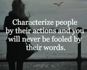 Character and words